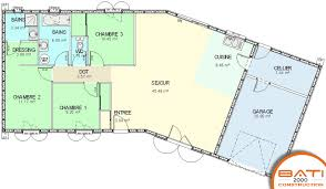 plan maison plain pied 100m2 3 chambres plan maison de plain pied 3 chambres st24 jornalagora