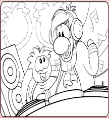 download coloring pages club penguin coloring pages club penguin