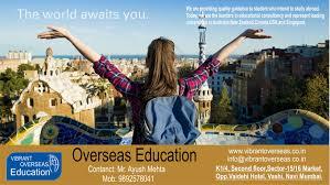 vibrant overseas education consultants google