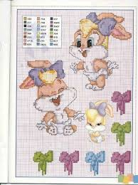 46 cross stitch looney tunes images looney