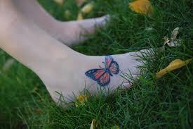 butterfly tattoos on foot cute tattoo designs u0026 ideas tattoo