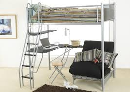 Loft Bed With Futon And Desk Loft Bed With Desk And Futon Home Design Ideas