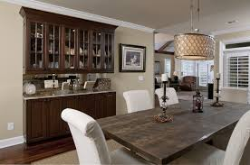 awesome neutral home simple dining room deco combine beautiful