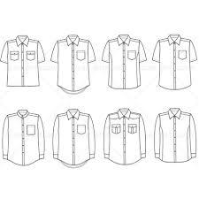 men u0027s button down shirt fashion flat template fashion flats