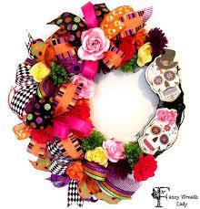 59 best halloween wreaths by fancy wreath lady images on pinterest