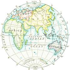 World Map Hemispheres by Map Skills Geography Byojeopardy