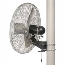 Ceiling Mount Fans by Fans Wall Fans Tpi 24 Pole Mount Fan Oscillating 1 4 Hp 6800