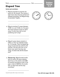 time worksheets grade 5 elapsed time worksheets printable