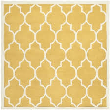 Square Wool Rug Safavieh Handmade Moroccan Cambridge Gold Ivory Wool Rug 6