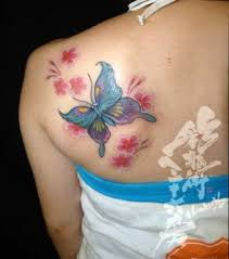 3d butterfly tattoos with name for design idea for and