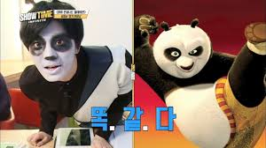 Kung Fu Panda Halloween Costumes Showtime Ep 11 Sungjong Kung Fu Panda Sungyeol