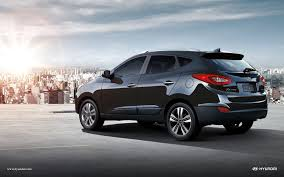 Hyundai Tucson 2016 Black Wallpaper 1920x1200 12866