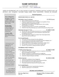 Resume Samples For Warehouse Warehouse Manager Resume Examples Resume Cover Letter Example