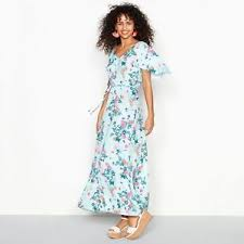 light blue floral maxi dress red herring womens light blue floral print v neck maxi dress ebay