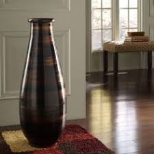large decorative floor vase floor vase in brushed