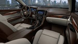 Brown Car Interior Video Cadillac Ats Engine Exhaust Sounds Autotribute