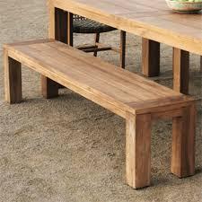 Rustic Bench Seat Teak Bench Seat