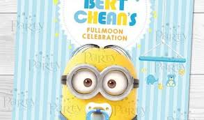 minion baby shower despicable me baby shower invitations 17 best ideas about minion