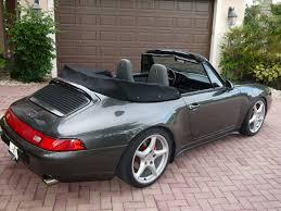 grey porsche 911 convertible 1995 porsche 993 cabriolet rennlist porsche discussion forums