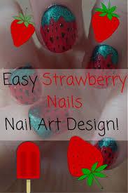 cartoon heart nail art design tutorial best 20 strawberry nail art ideas on pinterest u2014no signup required