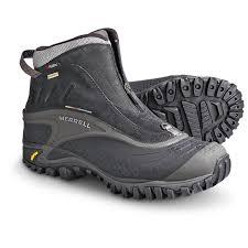 s zip boots merrell s isotherm zip waterproof boots mount mercy