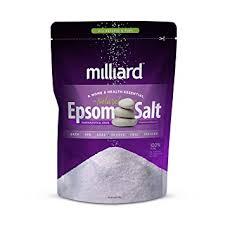 epsom salt vs table salt amazon com milliard epsom salt 5lbs magnesium sulfate bulk bag