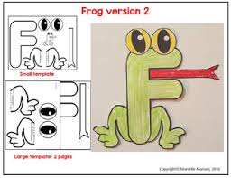 letter f art activity f is for frog art activity by marcelle u0027s kg