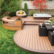 Wooden Outdoor Lounge Furniture Tumbled Marble Pool Deck Pool Traditional With Outdoor Dining