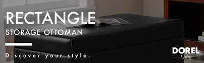 amazon com dorel asia wm3051ep2mwc rectangle storage ottoman