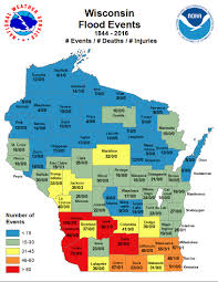 University Of Wisconsin Madison Map by Natural Hazards Climate In Wisconsin State Climatology Office