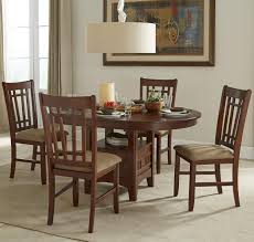 Oval Dining Table Set For 6 Intercon Mission Casuals Oval Dining Table Set With Cushioned Side
