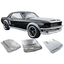 2003 Black Mustang Convertible Mustang Body Kit Fiberglass Unpainted Coupe Convertible 1967 1968
