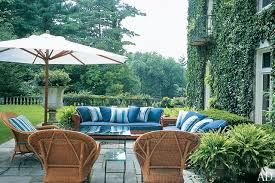 Patio Furniture And Decor by Patio And Outdoor Space Design Ideas Photos Architectural Digest