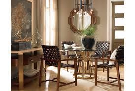 voussoir pedestal dining table base drexel heritage dining