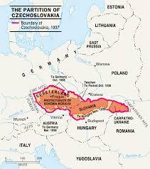 Czechoslovakia Map Civilization Past U0026 Present Illustrations