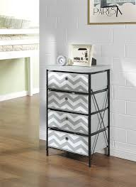 altra home decor altra furniture 4 bin kids storage system with gray and white
