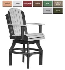 bar height adirondack chairs militariart com