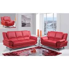 global furniture bonded leather sofa global furniture usa u9908 r red bonded leather living room sofa set