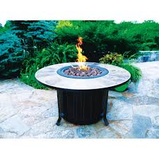 montini 46in gas fire table 68448a outdoor fireplaces ace