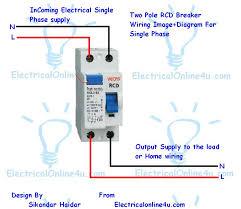 rcbo wiring diagram efcaviation com