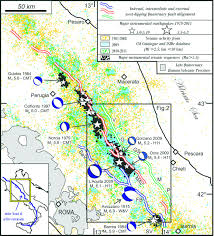 Norcia Italy Map by From Surface Geology To Aftershock Analysis Constraints On The