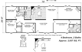 4 Bedroom Modular Home Floor Plans Adobe Style Modular Homes Manufactured Home And Mobile Home