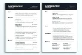 resume exles for 2 one page resume exles zippapp co