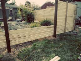 How To Build Backyard Fence Cheap Privacy Fence Diy Fence Gallery