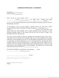 Durable Power Of Attorney Form Missouri free poa template virtren com