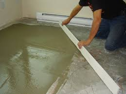 Laminate Flooring Concrete Slab Leveling A Wood Subfloor For Laminate U2013 Meze Blog