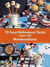 10 easy ways to turn marshmallows into halloween treats kitchn