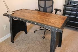Industrial Computer Desks Industrial Executive Desk Home Office Design