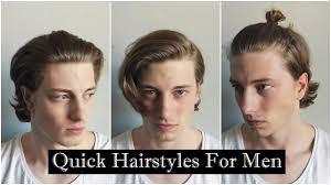 medium hair hairstyles for medium hair men s hair youtube