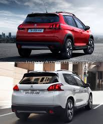 pezo car 2016 peugeot 2008 u2013 old vs new